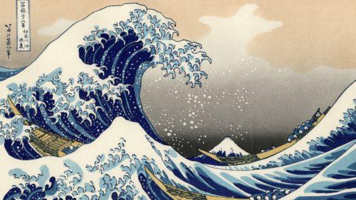 «Die große Welle vor Kanagawa» von Katsushika Hokusai